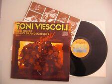 Toni Vescoli, Töbi Tobler, Bruno Brandenberger - Zäme, LP, Vinyl: vg++