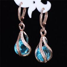 Fashion Design Wonderful 18k Gold Filled Colors cubic zirconia Dangle Earrings