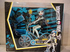 Monster High Frankie Stein boltin 'Bicycle-nuevo & OVP