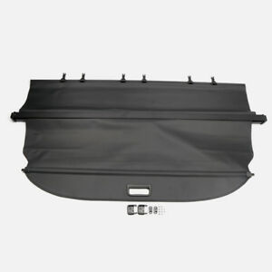 Fit For Ford Explorer 2011 - 2018 Trunk Shade Black Rear Retractable Cargo Cover