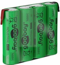 Goobay 4x AA Batteries 2100mAh green Solder tail Z NiMH 4.8V Battery