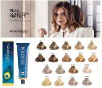 Wella Koleston Perfect Professional Hair Color - RICH NATURALS - 60 ML
