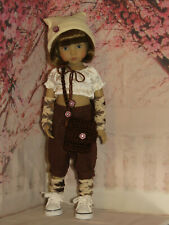 """HANDMADE OUTFIT TO FIT DIANNA EFFNER LITTLE DARLINGS 13"""" DOLL 7 PCS Includ SHOES"""