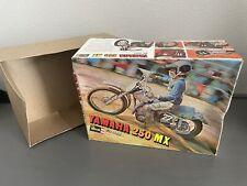 RARE! 1972 Revell YAMAHA 250 MX 1/12 (BOX ONLY) Motocross Dirt Bike