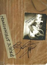 BRUCE SPRINGSTEEN Signed Autograph 2005 Devils & Dust Tour Book JSA LOA
