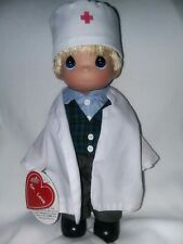Precious moments doctor boy doll rare Dr love toy 2002 with tags.