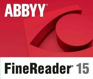 ABBYY Finereader 15 Standard / Corporate oder Upgrade ESD direkt per Mail NEU