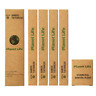 Bamboo Charcoal Toothbrush 2Soft and 2Medium Bristles(Pack 4)& free Dental Floss