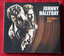 Johnny Hallyday, quelques cris, CD single digipack