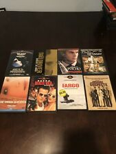 Lot of 8 Drama/Thriller Dvds, Taxi Driver, Fargo, The Usual Suspects.