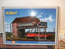 Kibri Modellbahn-Gebäude,-Tunnel & -Bücken der Spur H0 aus Kunststoff mit Stellwerk