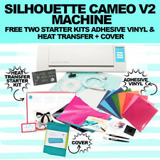 Silhouette Cameo Tool Bundle - Craft Cutter Machine free heatransfer vinyl/decal