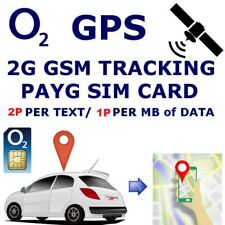 2G GSM O2 Sim Card for Car GPS Tracker Tracking Devices 2p per Text 1p Per M