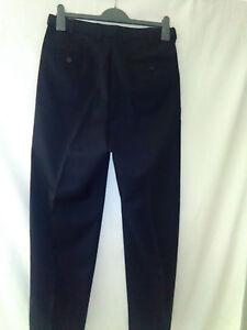 Mens Savane Work Pants / Trousers, Black, 82W, 79L, Poly/Cotton