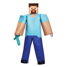 Mens Minecraft Prestige Steve Halloween Costume
