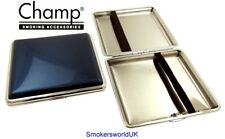 Cigarette Case -- Champ Shiny Blue 20 King Size -- NEW chks14