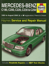 1994-2000 Mercedes C180 C200 C220 C250 Repair Service Workshop Manual Book 9881