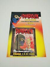 PANINI DIABOLIK IL RE DEL TERRORE 25 bustine figurine OMAGGIO tuten Lucca Comics