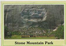 Stone Mountain Park Georgia USA 1991 Postcard 092a