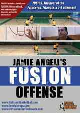 The FUSION Offense Jamie Angeli Special Basketball Championship Coaching DVDs