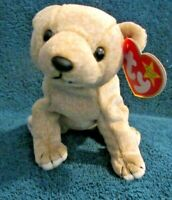 TY Beanie Baby Almond DOB April 14, 1999 MWMT Free Shipping