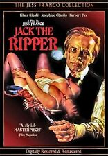 NEW DVD-  JACK THE RIPPER - JESS FRANCO - KLAUS KINSKI , JOSEPHINE CHAPLIN