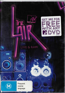 THE LAIR Live And Raw DVD - PAL R4 New / Sealed MTV FREE SHIPPING