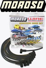 Moroso 9866M Big Block Chevy 454 7.4L Mag-Tune Spark Plug Wires HEI Under Header