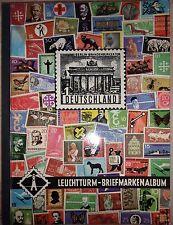 Album Leuchtturm pour ranger une collection de timbres d'Allemagne 1954-1965