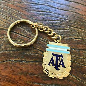Argentina soccer AFA vintage keychain. Original Rare collection. 1986 - 1979