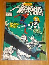 WEST COAST AVENGERS #84 VOL 1 COMIC SPIDERWOMAN ORIGIN JULY 1992