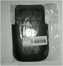 Genuine Official BlackBerry Q5 Black Leather Pocket Pouch / Case HDW-55522-001