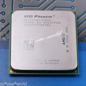 100% OK HD9650WCJ4BGH AMD Phenom X4 9650 2.3 GHz Quad-Core Processor CPU