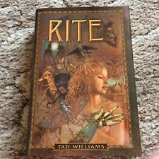 RITE Tad Williams 1st ed HC SIGNED/LIMITED 140,000+ word collection fine OOP