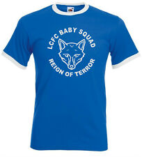 LCFC Baby Squad, Reign of Terror. Leicester Supporters Club Retro Tshirt