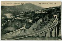 CPA 38 Isère Ligne de la Mure Les Viaducs de Loulla