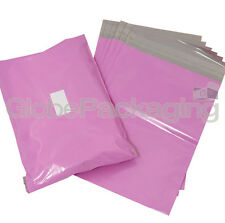 20 x Strong Large PINK Postal Mailing Bags Sacks 19x29""