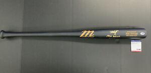 "ALEX VERDUGO RED SOX Signed MARUCCI GAME MODEL BAT MLB DEBUT 9/1/17"" PSA RG25218"
