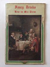 Fancy Drinks: How To Mix Them 1935 1st Edition Pulsam Co. Buffalo, NY VGC