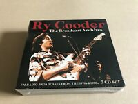 BROADCAST ARCHIVES (3CD)  by RY COODER  Compact Disc - 3 CD Box Set  BSCD6117