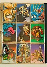 1992 Wolverine Trading Cards COMPLETE BASE SET, #1-90+ PRISIM P1-P2-P3-P5-P6
