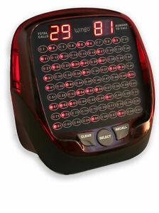 Wingo Bingo Machine Electronic Bingo Machine 2 year warranty / Play 1-90 or 1-75