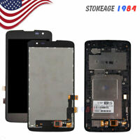 For LG K7 LS675 K330 MS330 LCD Display Tribute 5 Touch Screen Digitizer Frame