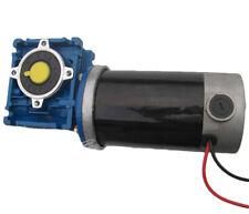 100w Gw80170 Worm Gear Motor Dc 1224v High Torque Low Speed Motors 12rpm 330rpm