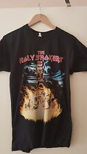 IRON MAIDEN VINTAGE 1990 T-SHIRT - HOLY SMOKERS SECRET GIG MEGA RARE GREAT COND