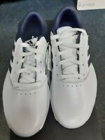 adidas Golf Mens 2020 360 Bounce II Spiked Leather Waterproof Golf Shoes 8 Wide