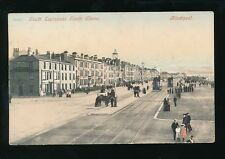 Lancashire BLACKPOOL South Esplanade Trams c1900s PPC