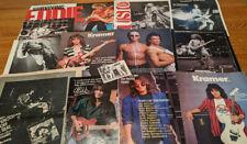 Van Halen Eddie Van Halen David Lee Roth Sammy Hagar Clippings Pack 100+