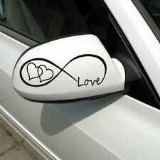 Love Infinity Forever Quote Small Car Sticker Vinyl Bumper Art Decorative Decals