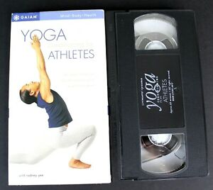 Living Arts - Yoga Conditioning for Athletes with Rodney Yee 2000 VHS Stretching